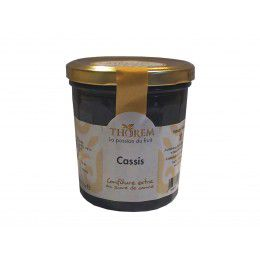 Confiture de Cassis, pot 375 gr