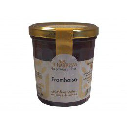 Confiture Framboise, pot 375 gr
