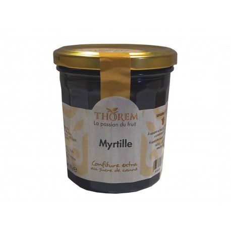 Confiture de Myrtille, pot 375 gr