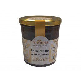 Confiture de Prune d' Ente du Lot et Garonne, pot 375 gr