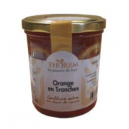 Confiture d'Orange en tranches pot 375gr