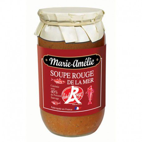 soupe de la mer label rouge bocal 780gr epicerie fine. Black Bedroom Furniture Sets. Home Design Ideas