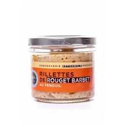Rillettes de rouget barbet, Verrine 90gr