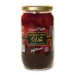 Poires Williams Entieres au Vin Guintrand 850 ml