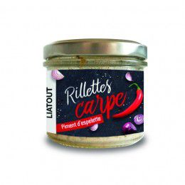 Rillette de Carpe Piment Espelette