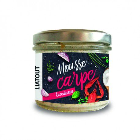 Mousse Carpe Ecrevisse