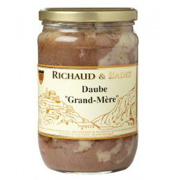"Daube ""Grand-Mère"", Bocal 600gr"