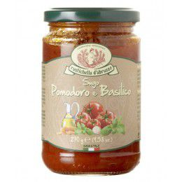 Sauce Tomate et Balisic Epicerie Italienne