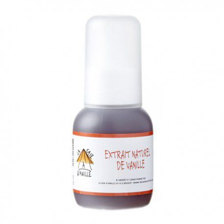 Extrait naturel de Vanille de Madagascar 50 ml