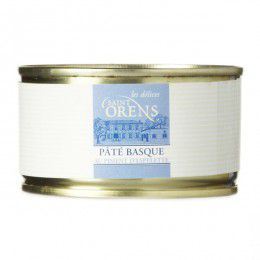 Pâté Basque au piment d'espelette, verrine 130gr