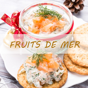Menu de Noël - Poissons et fruits de mer